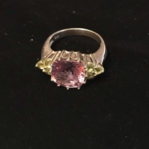 Jewelry - Sterling Silver amethyst ring, size 8